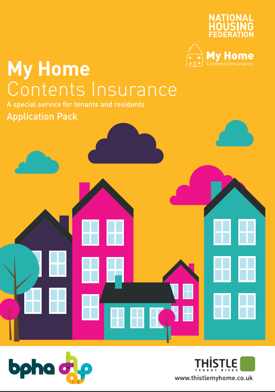 My Home Contents Insurance leaflet