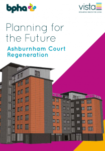 Ashburnham Court regeneration information leaflet