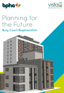 Bury Court regeneration information leaflet